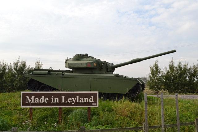 Made in Leyland - Centurion Tank