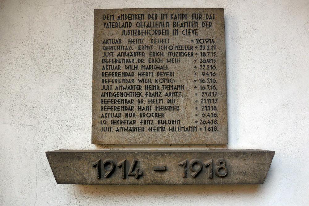 War Memorial Kleve