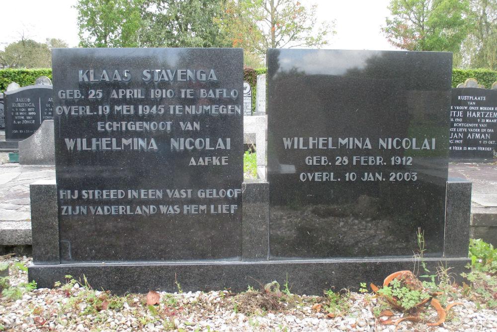 Nederlands Oorlogsgraf Algemene Begraafplaats Baflo
