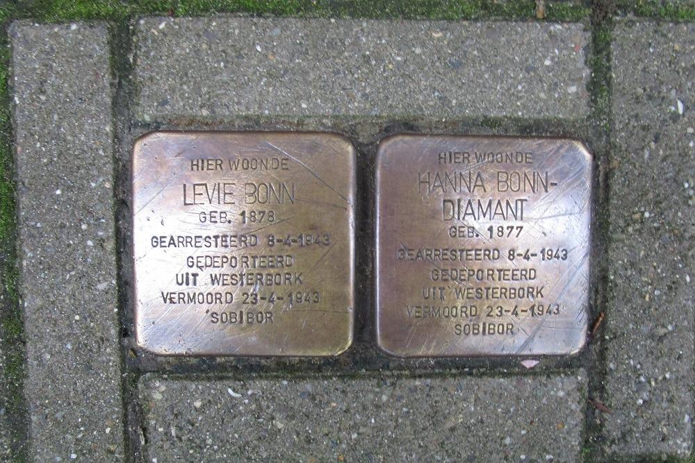Remembrance Stones Lomanstraat 28