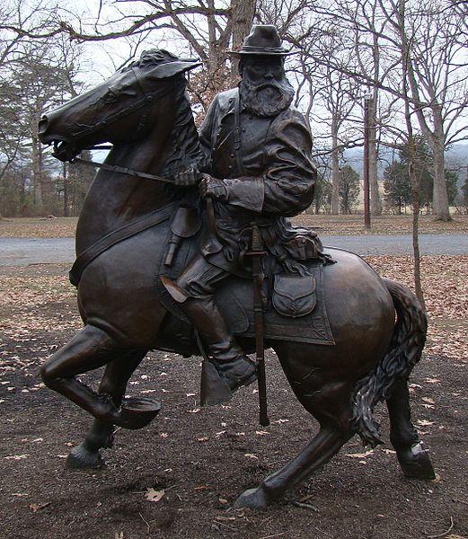 Equestrian Statue Lieutenant General James Longstreet C S A Gettysburg Tracesofwar Com