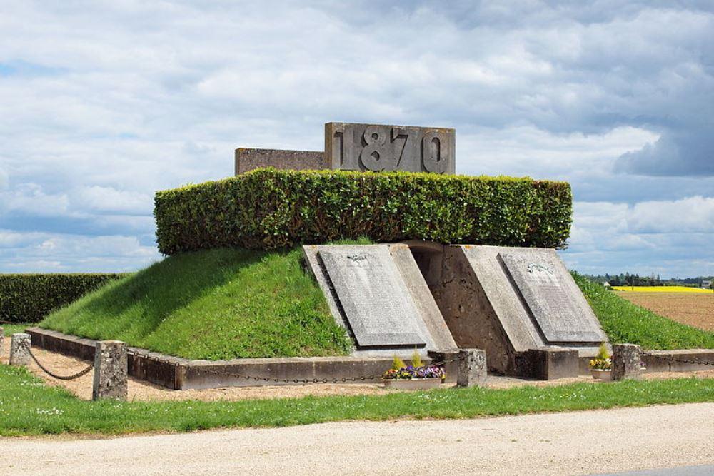 Ossuarium Frans-Duitse Oorlog Épieds-en-Beauce