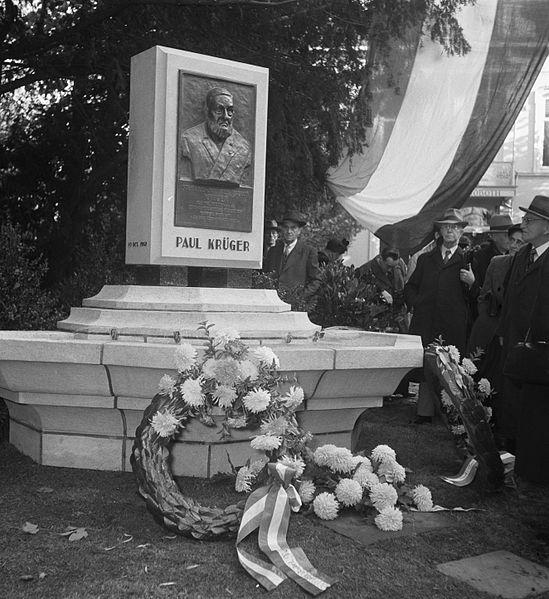memorial paul kruger utrecht tracesofwar comKrugerpark Utrecht.htm #1