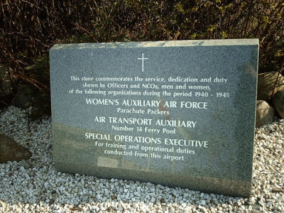 Memorial W.A.A.F., A.T.A. and S.O.E.