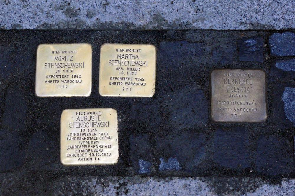 Stumbling Stone Schloßkirchplatz 3