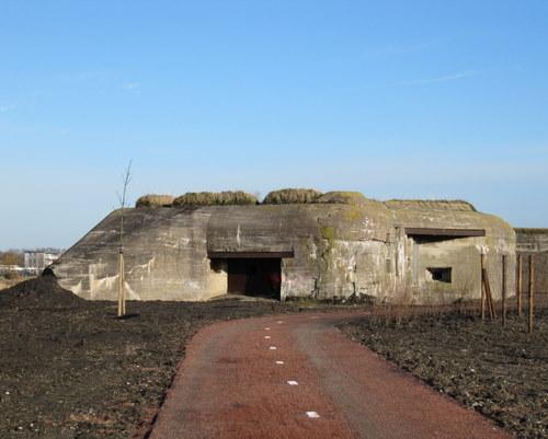 Stützpunkt Krimhild Landfront Vlissingen New Abeele bunker 2 type 630