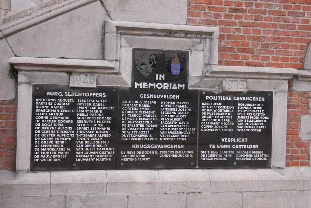 War Memorial Sint-Amandsberg