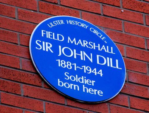 Plaque Sir John Dill
