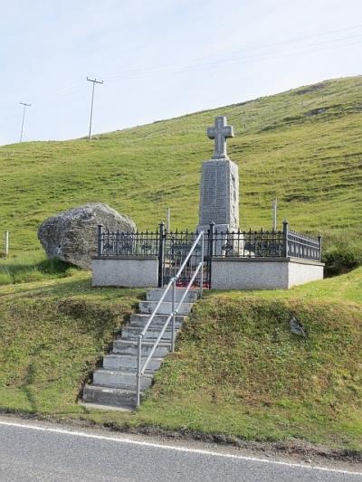 Oorlogsmonument Hillside