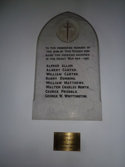 War Memorial St. Michael and All Angels Church Weyhill