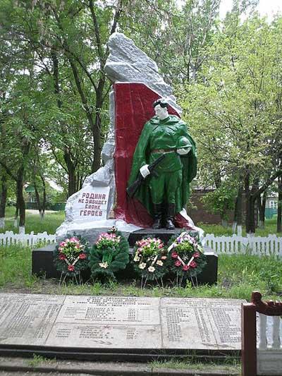Mass Grave Soviet Soldiers Kyivs'ka Street