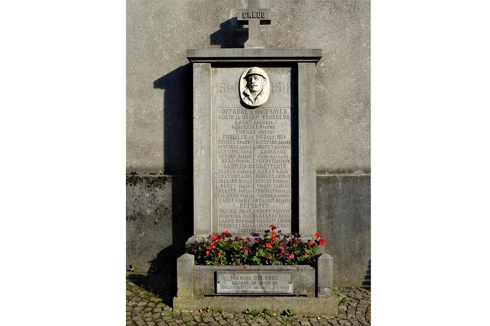 Memorial Stone Offagne