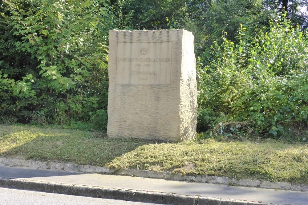 Monument 100e Verjaardag Geboorte Dwight D. Eisenhower