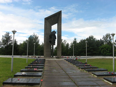Soviet War Cemetery Karmanovo