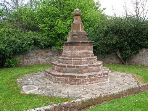 War Memorial Whittingehame Mains