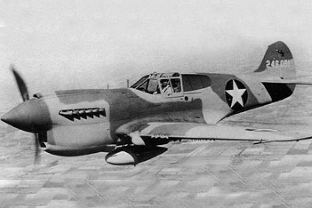 Crashlocatie P-40K-1-CU