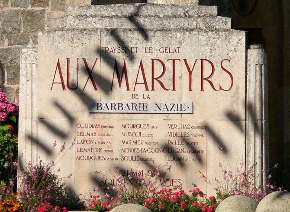Monument Executie 21 Mei 1944