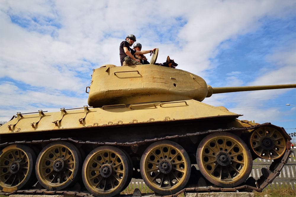 T-34/85 Tank Kielce