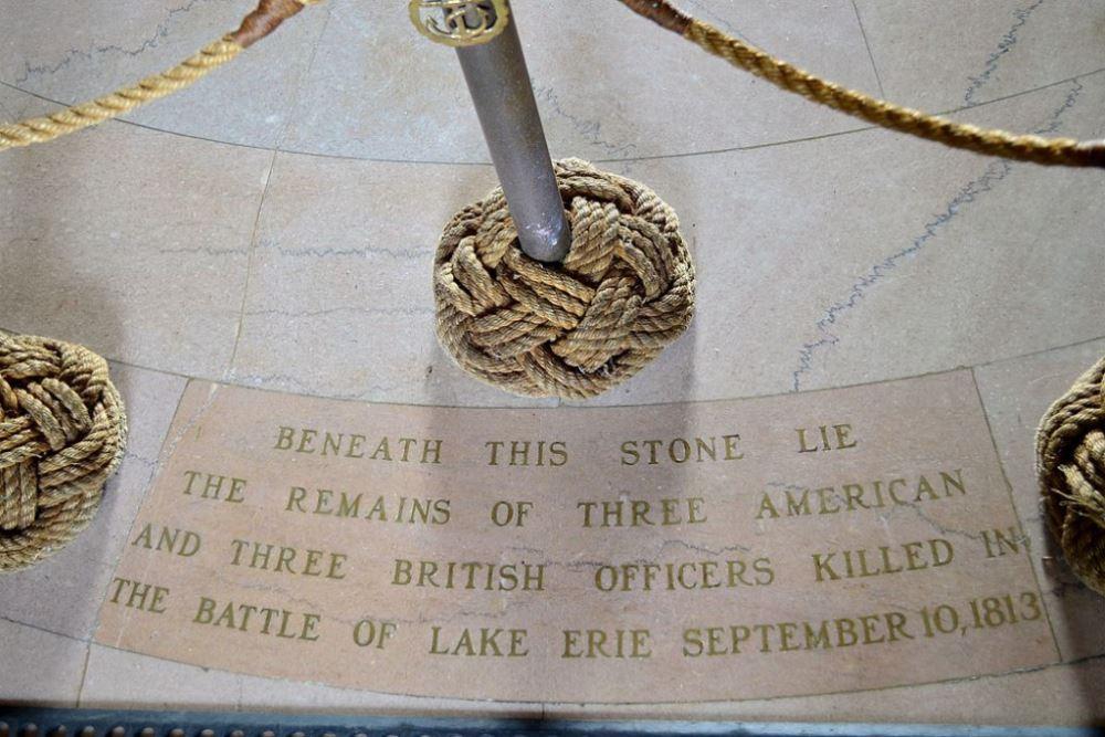 Graf Gesneuvelden Slag van Lake Erie