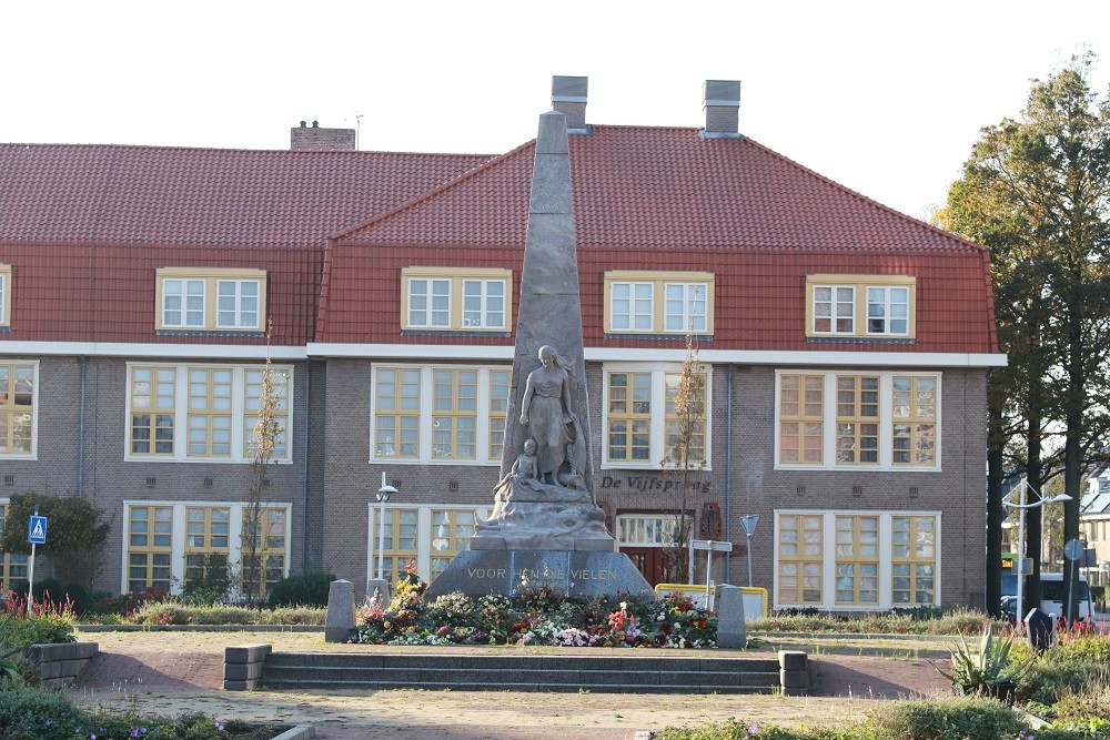 Monument Slachtoffers M.S. Java 1942 Den Helder