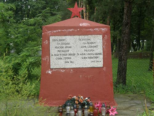 Mass Grave Soviet Soldiers Pratulin