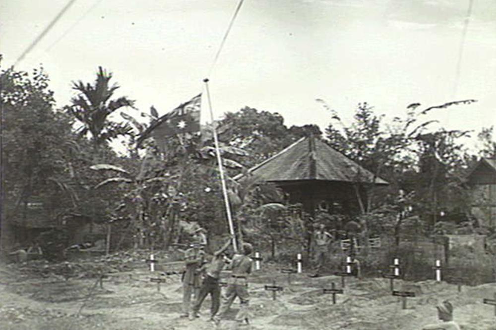 Locatie Voormalige Begraafplaats 2/23 Infantry Battalion