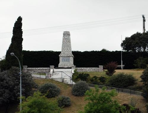 Oorlogsmonument Seddon
