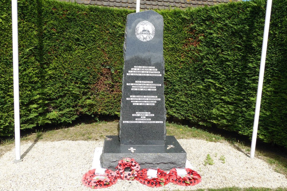 Monument South Wales Borderers