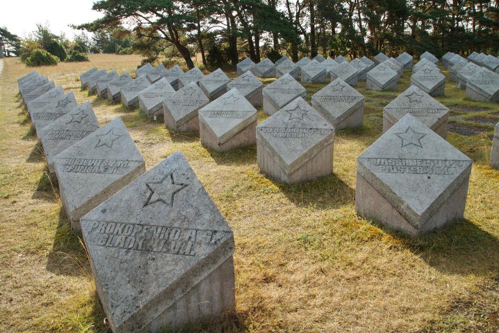 Sovjet Oorlogsbegraafplaats Tehumardi