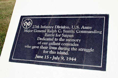 Monument U.S. 27th Infantry Division (Saipan)