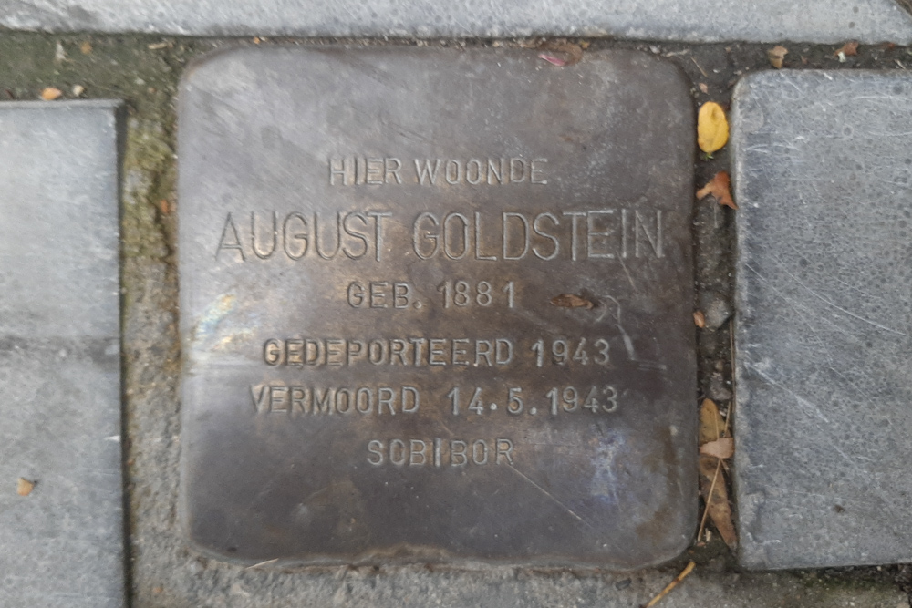 Stolperstein Stationstraat 16