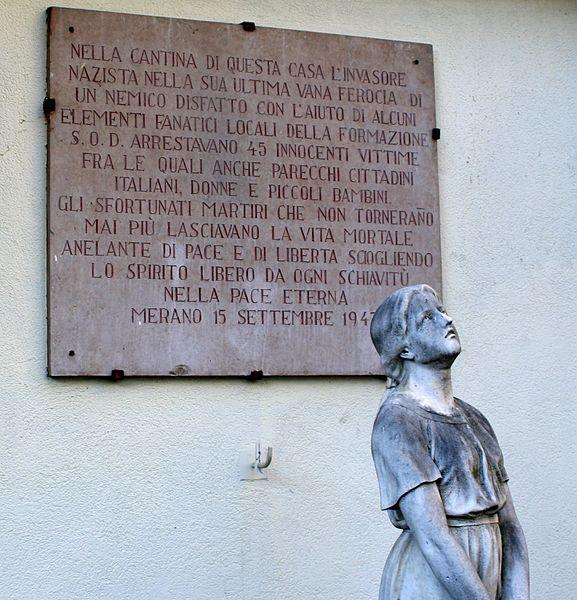 Monument Joden van Merano