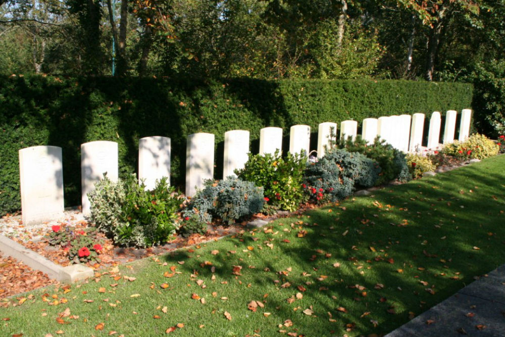 Commonwealth War Graves Oegstgeest