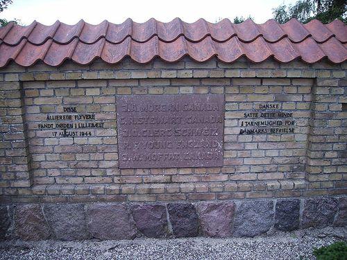 Herdenkingsmuur Gesneuvelde Vliegeniers Sønderby