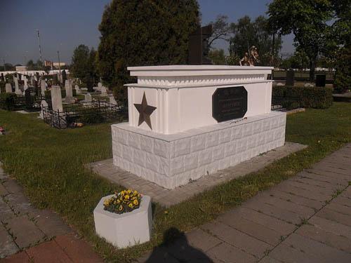 Sovjet Oorlogsgraven Garnizoen Begraafplaats Brest