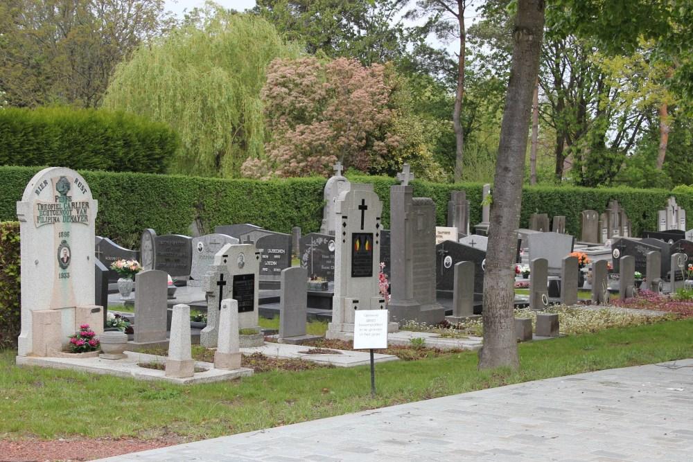 Graven Oudstrijders Essenbeek