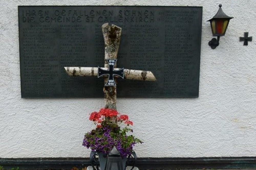 War Memorial Sankt Gallenkirch