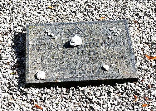 Grave Victim Concentration Camp Lärbro Kyrka