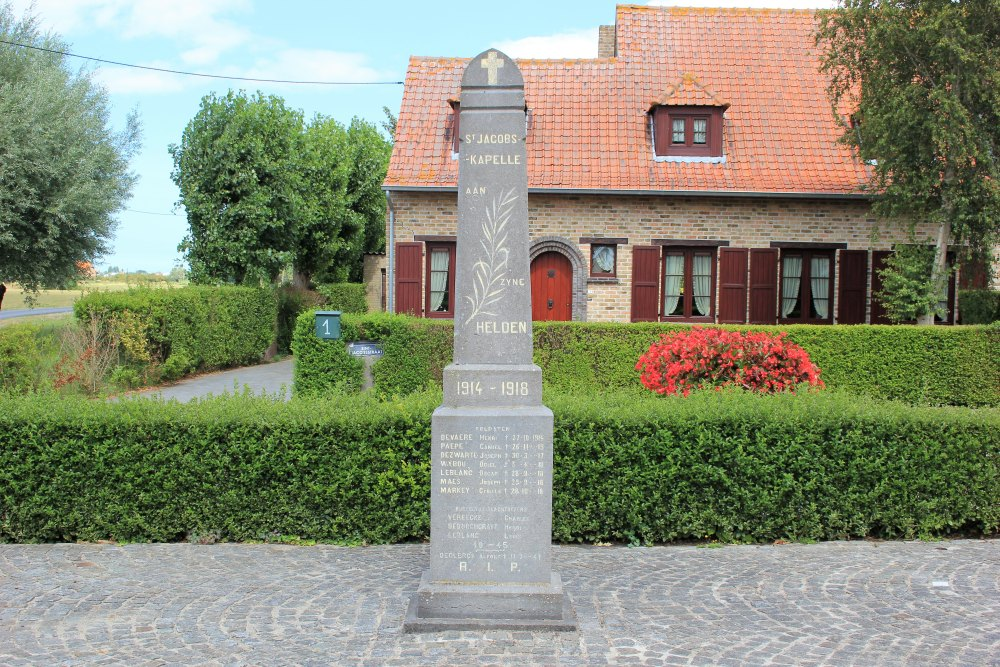 War Memorial Sint-Jacobs-Kapelle