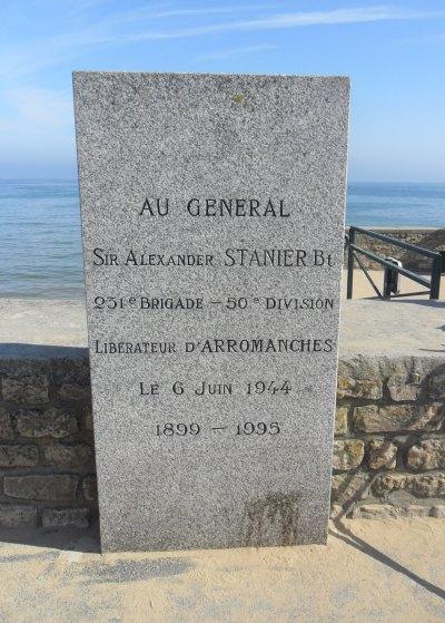 Monument Generaal Sir Alexander Stanier