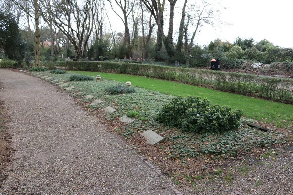 Erehof Slachtoffers Bombardement 1940 Rooms Katholieke Begraafplaats Sint Jozef Den Helder