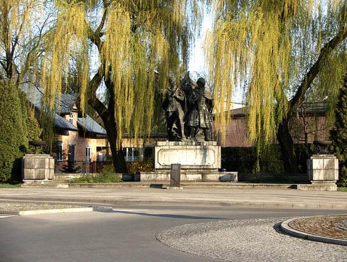 Monument Poolse-Sovjet Militaire Broederschap