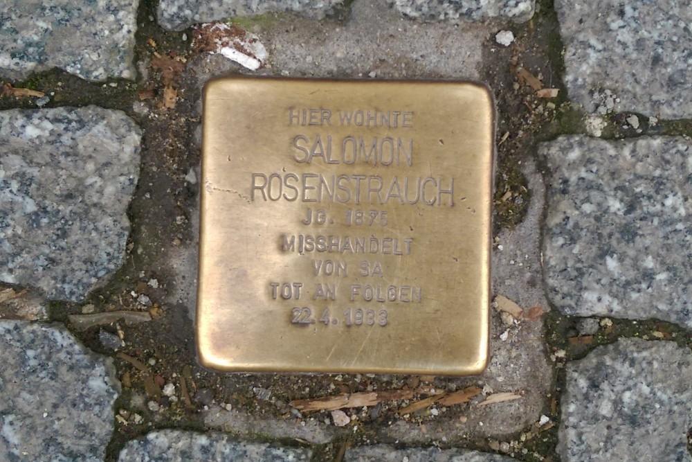Stumbling Stone Wilhelmstraße 20