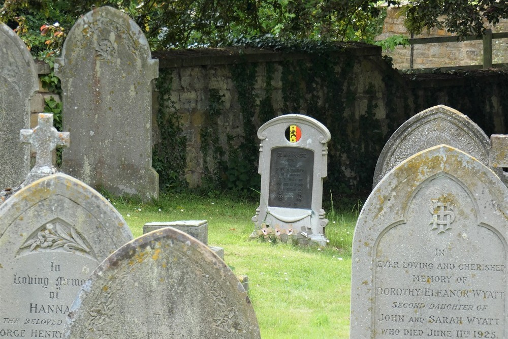 Belgian Grave on St. Lawrence Churchyard