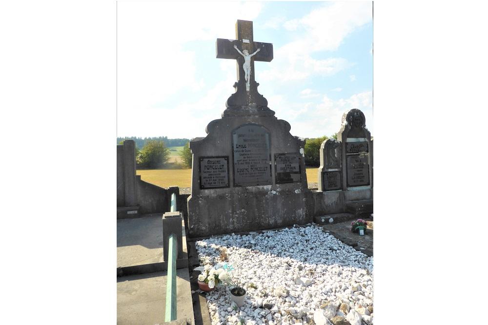 Belgian War Grave Municipal Cemetery Paliseul