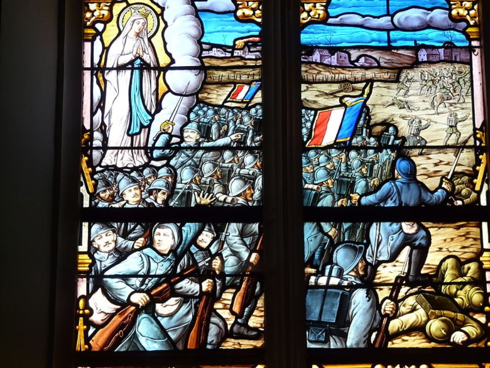 World War I Memorial Window Le Gavre