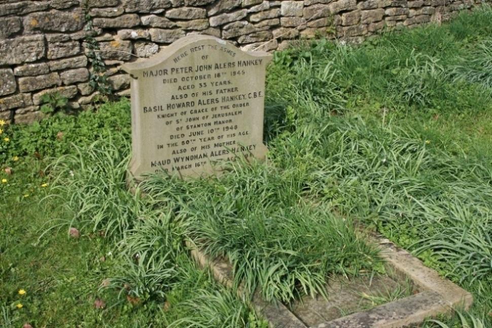 Oorlogsgraf van het Gemenebest St. Giles Churchyard