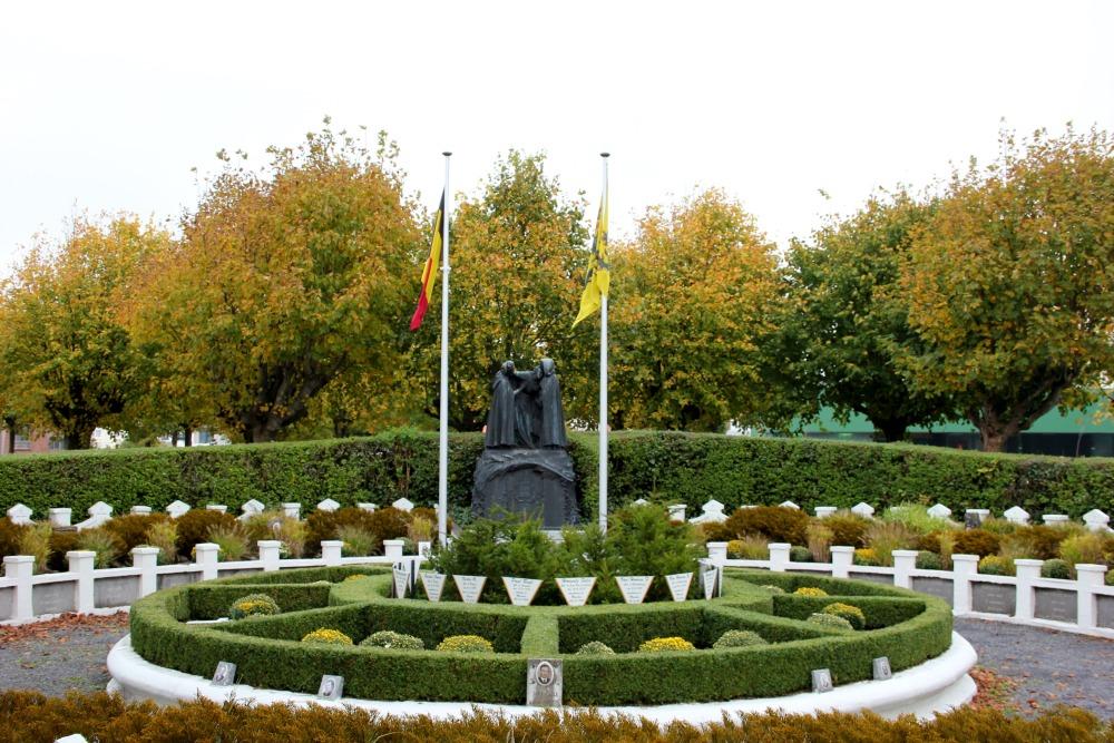Belgische Oorlogsgraven Blankenberge