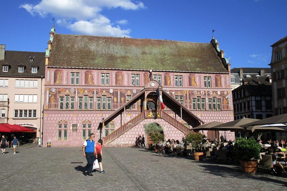 Herinneringsplaquette Bevrijding Mulhouse