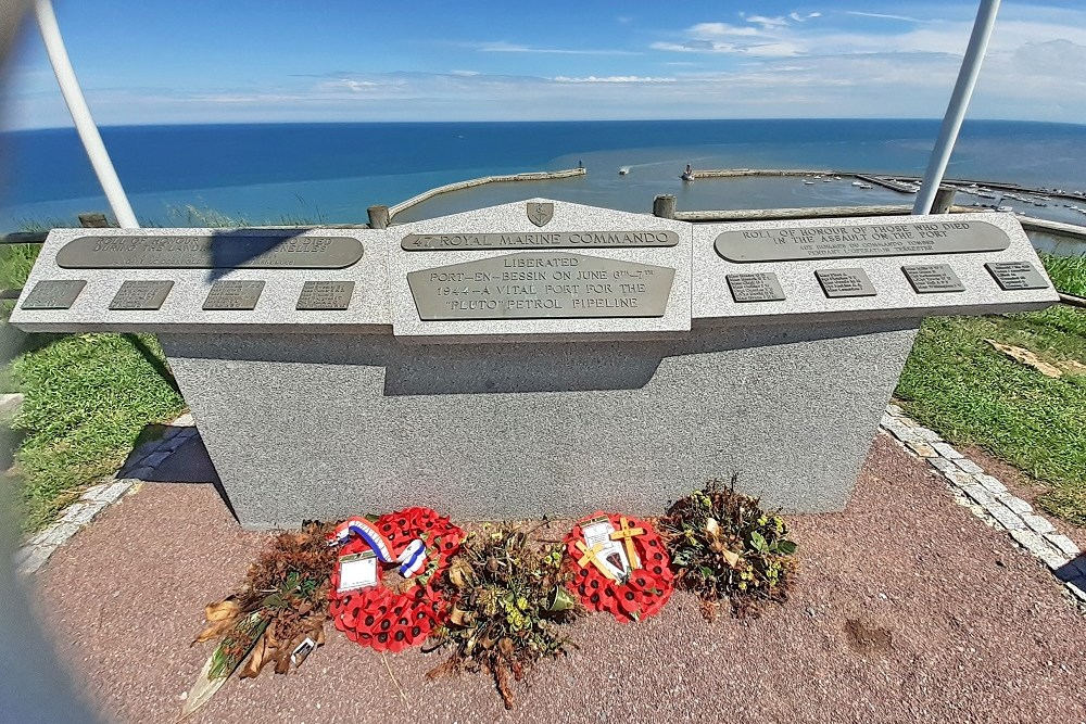 monument 47e Royal Marine Commando